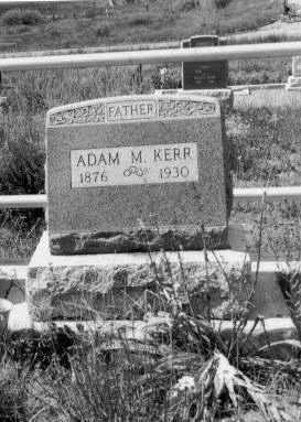 KERR, ADAM MILLER - Gunnison County, Colorado | ADAM MILLER KERR - Colorado Gravestone Photos