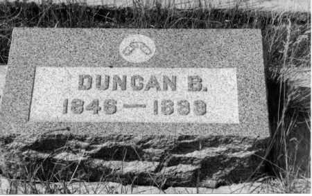 KERR, DUNCAN ALEXANDER BENSON - Gunnison County, Colorado | DUNCAN ALEXANDER BENSON KERR - Colorado Gravestone Photos