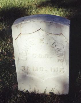 LORE, LEWIS E. - Gunnison County, Colorado | LEWIS E. LORE - Colorado Gravestone Photos