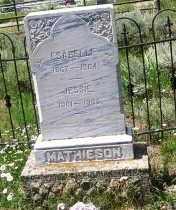 MATHIESON, JESSIE - Gunnison County, Colorado   JESSIE MATHIESON - Colorado Gravestone Photos