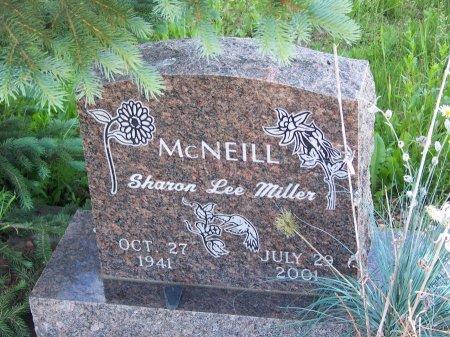 MILLER MCNEIL, SHARON LEE - Gunnison County, Colorado | SHARON LEE MILLER MCNEIL - Colorado Gravestone Photos