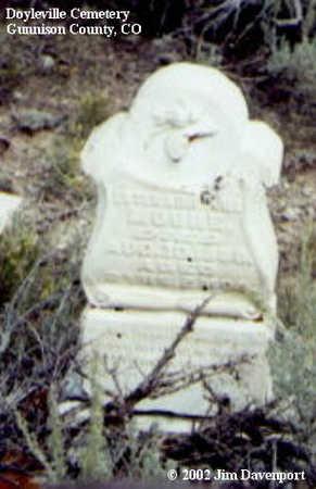 MOORE, ESTER ABA??ILE - Gunnison County, Colorado | ESTER ABA??ILE MOORE - Colorado Gravestone Photos