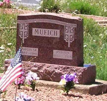 MUFICH, ANTONIA - Gunnison County, Colorado | ANTONIA MUFICH - Colorado Gravestone Photos