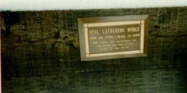 NOBLE, OPAL - Gunnison County, Colorado | OPAL NOBLE - Colorado Gravestone Photos