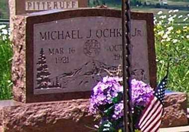 OCHKO JR., MICHAEL J. - Gunnison County, Colorado | MICHAEL J. OCHKO JR. - Colorado Gravestone Photos