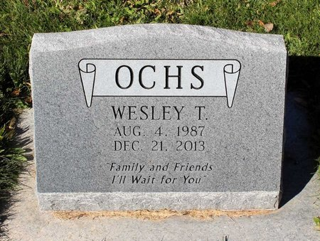 OCHS, WESLEY T. - Gunnison County, Colorado | WESLEY T. OCHS - Colorado Gravestone Photos