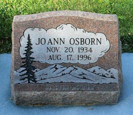 OSBORN, JO ANN - Gunnison County, Colorado | JO ANN OSBORN - Colorado Gravestone Photos