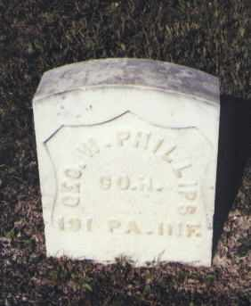 PHILLIPS, GEO. W. - Gunnison County, Colorado | GEO. W. PHILLIPS - Colorado Gravestone Photos