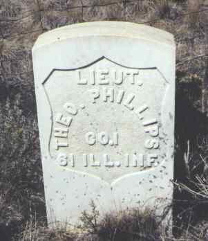 PHILLIPS, THEO. - Gunnison County, Colorado | THEO. PHILLIPS - Colorado Gravestone Photos