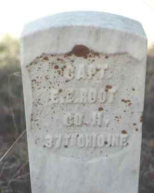 ROOT, E. E. - Gunnison County, Colorado | E. E. ROOT - Colorado Gravestone Photos