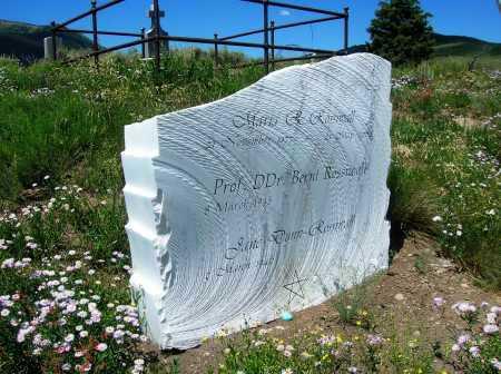 ROSSIWALL, BERNT - Gunnison County, Colorado   BERNT ROSSIWALL - Colorado Gravestone Photos