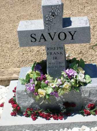 SAVOY JR., JOSEPH FRANK - Gunnison County, Colorado   JOSEPH FRANK SAVOY JR. - Colorado Gravestone Photos