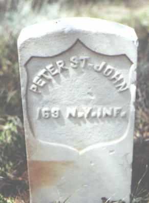 ST. JOHN, PETER - Gunnison County, Colorado   PETER ST. JOHN - Colorado Gravestone Photos