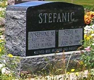 STEFANIC, JOSEPHINE M. - Gunnison County, Colorado   JOSEPHINE M. STEFANIC - Colorado Gravestone Photos