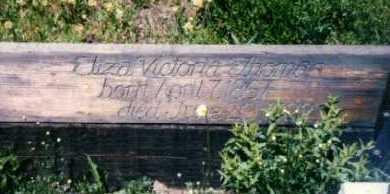 THOMAS, ELIZA - Gunnison County, Colorado | ELIZA THOMAS - Colorado Gravestone Photos