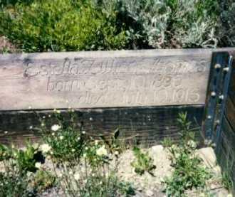 THOMAS, ESTELLA - Gunnison County, Colorado   ESTELLA THOMAS - Colorado Gravestone Photos