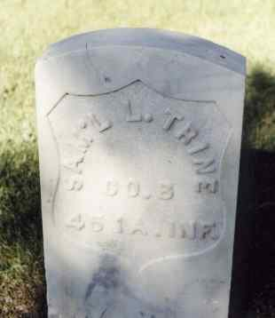 TRINE, SAM'L L. - Gunnison County, Colorado | SAM'L L. TRINE - Colorado Gravestone Photos