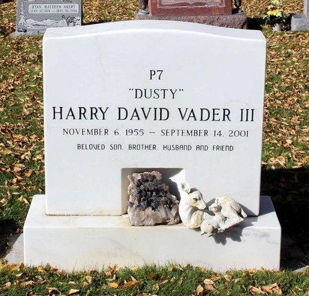 VADER, HARRY DAVID III - Gunnison County, Colorado | HARRY DAVID III VADER - Colorado Gravestone Photos