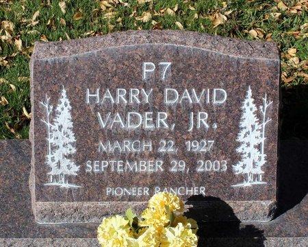 VADER, HARRY DAVID JR. - Gunnison County, Colorado   HARRY DAVID JR. VADER - Colorado Gravestone Photos