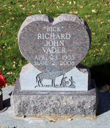 VADER, RICHARD JOHN - Gunnison County, Colorado | RICHARD JOHN VADER - Colorado Gravestone Photos