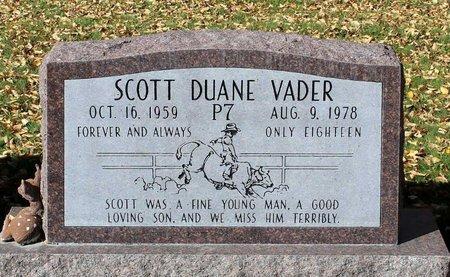 VADER, SCOTT DUANE - Gunnison County, Colorado   SCOTT DUANE VADER - Colorado Gravestone Photos