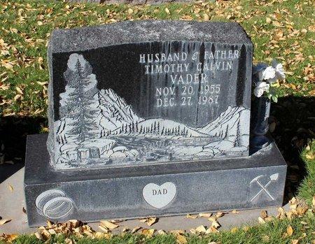VADER, TIMOTHY CALVIN - Gunnison County, Colorado | TIMOTHY CALVIN VADER - Colorado Gravestone Photos