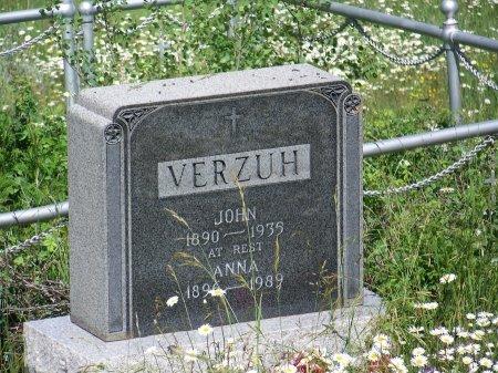 VERZUH, JOHN - Gunnison County, Colorado | JOHN VERZUH - Colorado Gravestone Photos