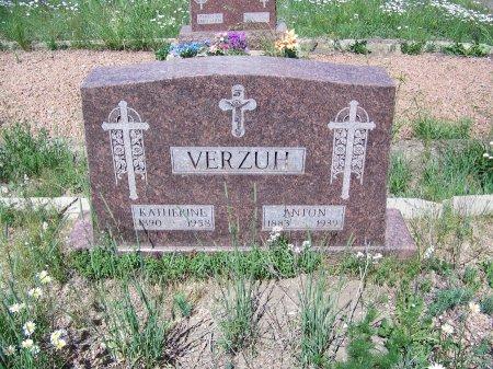 VERZUH, KATHERINE - Gunnison County, Colorado | KATHERINE VERZUH - Colorado Gravestone Photos