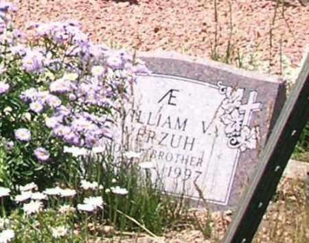 VERZUH, WILLIAM V. - Gunnison County, Colorado | WILLIAM V. VERZUH - Colorado Gravestone Photos