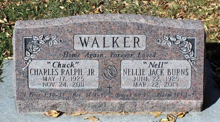 BURNS WALKER, NELLIE JACK - Gunnison County, Colorado | NELLIE JACK BURNS WALKER - Colorado Gravestone Photos