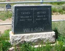 WILLSON, WILLIAM H. - Gunnison County, Colorado | WILLIAM H. WILLSON - Colorado Gravestone Photos