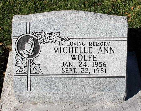 WOLFE, MICHELLE ANN - Gunnison County, Colorado | MICHELLE ANN WOLFE - Colorado Gravestone Photos