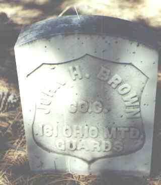 BROWN, JOHN H. - Hinsdale County, Colorado | JOHN H. BROWN - Colorado Gravestone Photos