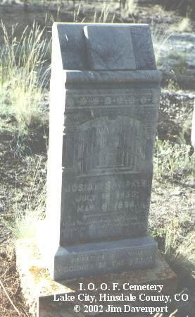 KIRKER, JOSIAH S. - Hinsdale County, Colorado | JOSIAH S. KIRKER - Colorado Gravestone Photos