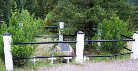 *OVERVIEW,  - Hinsdale County, Colorado |  *OVERVIEW - Colorado Gravestone Photos