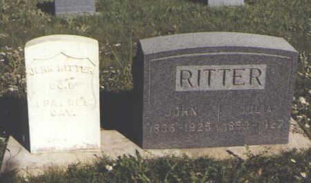 RITTER, JOHN - Huerfano County, Colorado | JOHN RITTER - Colorado Gravestone Photos