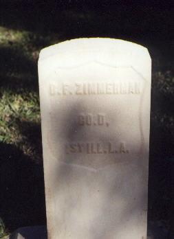 ZIMMERMAN, B. F. - Huerfano County, Colorado   B. F. ZIMMERMAN - Colorado Gravestone Photos
