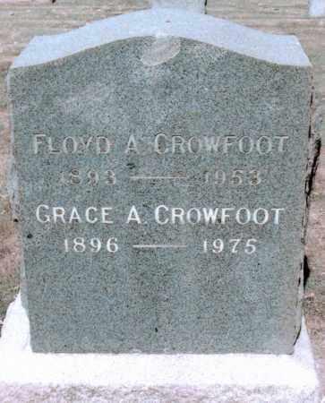 CROWFOOT, FLOYD A - Jefferson County, Colorado | FLOYD A CROWFOOT - Colorado Gravestone Photos