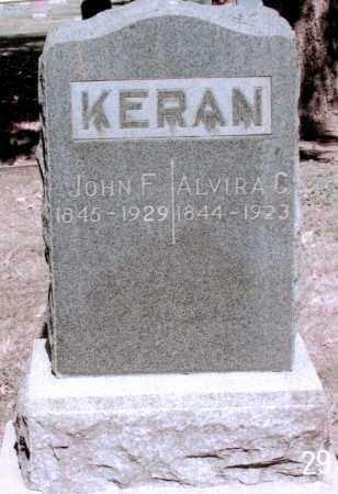 KERAN, JOHN F - Jefferson County, Colorado | JOHN F KERAN - Colorado Gravestone Photos