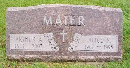 MAIER, ARTHUR - Jefferson County, Colorado | ARTHUR MAIER - Colorado Gravestone Photos