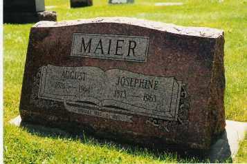 MAIER, AUGUST - Jefferson County, Colorado | AUGUST MAIER - Colorado Gravestone Photos