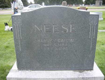 NEESE, HARVEY CALVIN - Jefferson County, Colorado   HARVEY CALVIN NEESE - Colorado Gravestone Photos