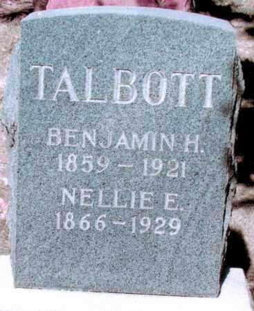 TALBOTT, NELLIE E - Jefferson County, Colorado | NELLIE E TALBOTT - Colorado Gravestone Photos