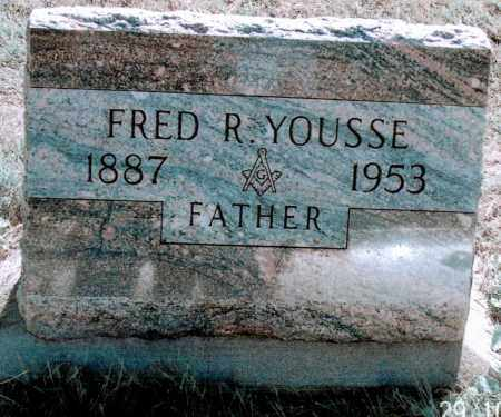 YOUSSE, FRED R - Jefferson County, Colorado | FRED R YOUSSE - Colorado Gravestone Photos