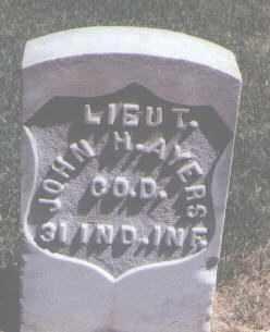AYERS, JOHN H. - Jefferson County, Colorado   JOHN H. AYERS - Colorado Gravestone Photos
