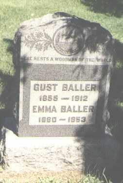 BALLER, GUST - Jefferson County, Colorado   GUST BALLER - Colorado Gravestone Photos
