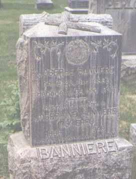 BANNIERE, JOSEPHE - Jefferson County, Colorado   JOSEPHE BANNIERE - Colorado Gravestone Photos