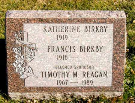 BIRKBY, FRANCIS ARTHUR - Jefferson County, Colorado | FRANCIS ARTHUR BIRKBY - Colorado Gravestone Photos