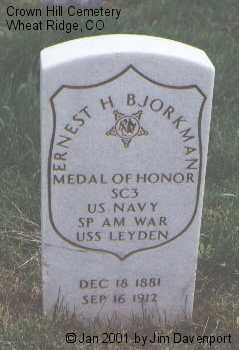 BJORKMAN, ERNEST H. - Jefferson County, Colorado | ERNEST H. BJORKMAN - Colorado Gravestone Photos