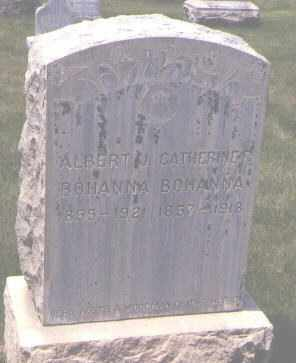BOHANNA, ALBERT J. - Jefferson County, Colorado | ALBERT J. BOHANNA - Colorado Gravestone Photos